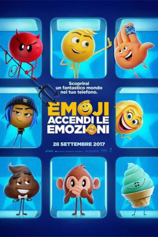 "Poster for the movie ""Emoji - Accendi le emozioni"""
