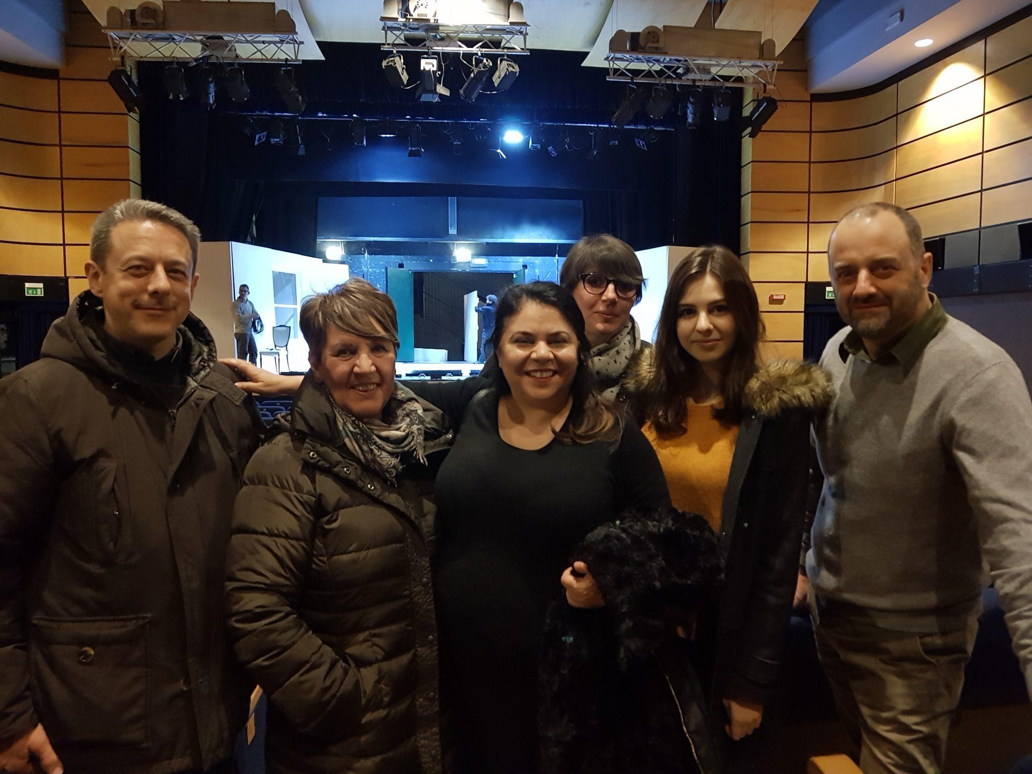 Lo staff con Michela Murgia 7/02/2018