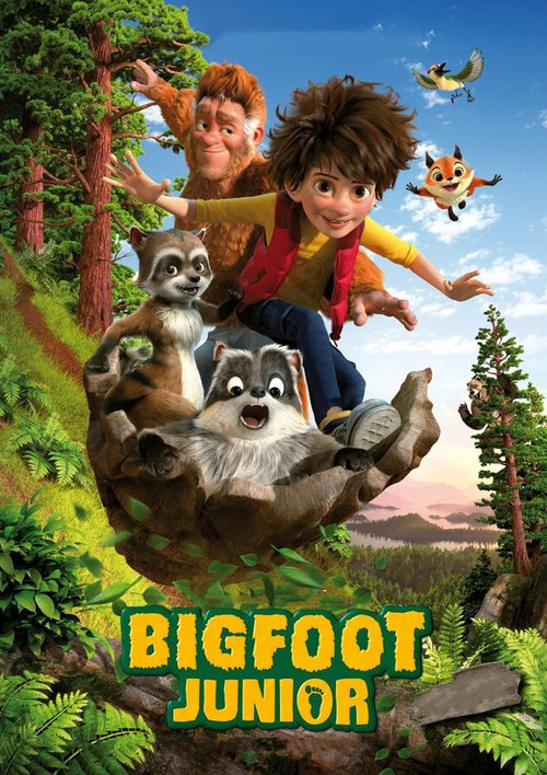 """Poster for the movie """"Bigfoot Junior"""""""