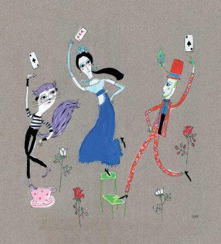 Alice nel paese del flamenco