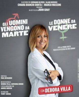"""Debora Villa: """"Gli uomini vengono da Marte, le donne da Venere"""""""