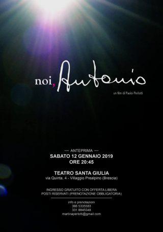 """Docu-Film: """"Noi, Antonio"""" @ Teatro S. Giulia"""