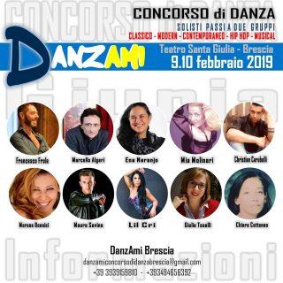 DanzAmi - Concorso di Danza @ Teatro S. Giulia | Brescia | Lombardia | Italia