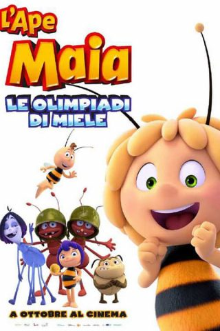 "Poster for the movie ""L'Ape Maia - Le Olimpiadi di miele"""