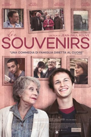 "Poster for the movie ""Les souvenirs"""