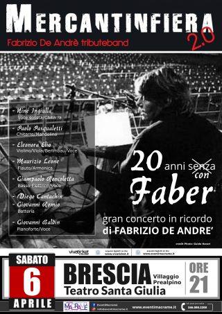 Mercanteinfiera 2.0 – Fabrizio De Andrè tribute band @ Teatro S. Giulia