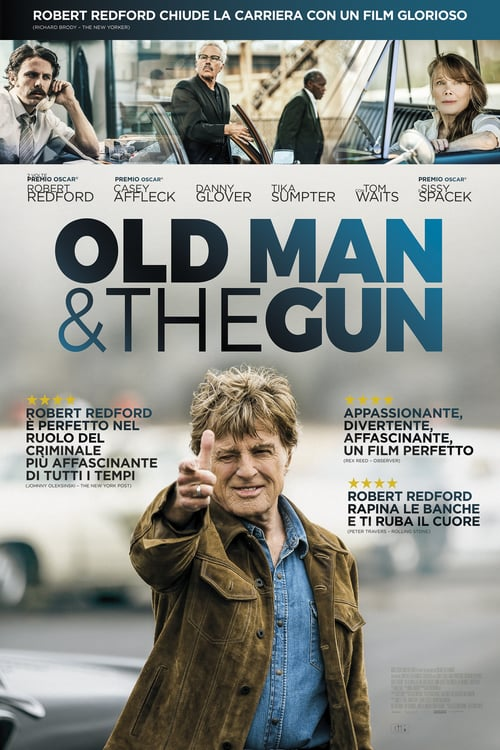 "Poster for the movie ""Old Man & the Gun"""