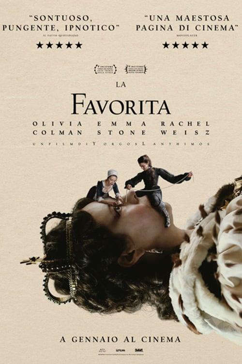 "Poster for the movie ""La favorita"""