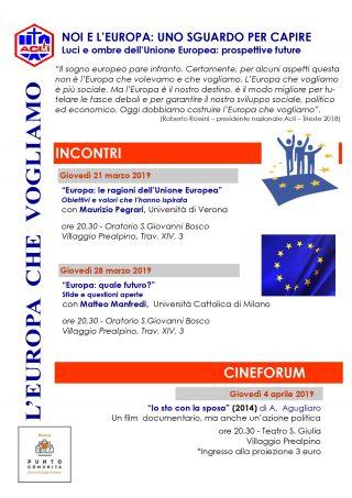 Incontro - Europa: le ragioni dell'Unione Europea @ Oratorio S. Giovanni Bosco