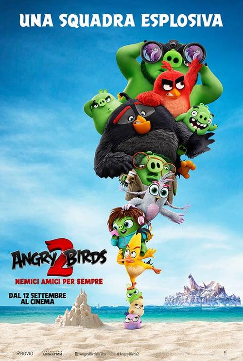 """Poster del film """"Angry Birds 2 – Nemici amici per sempre"""""""