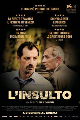 """Poster del film """"L'insulto"""""""