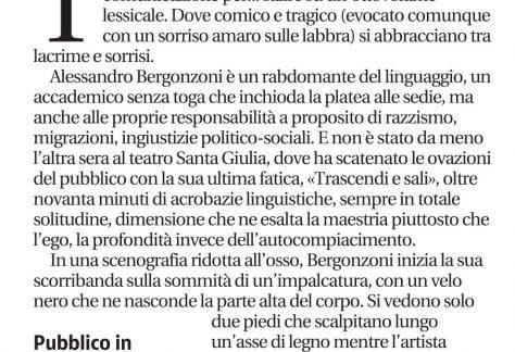 8 novembre GdB recensione Bergonzoni