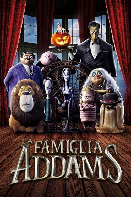 """Poster del film """"La famiglia Addams"""""""