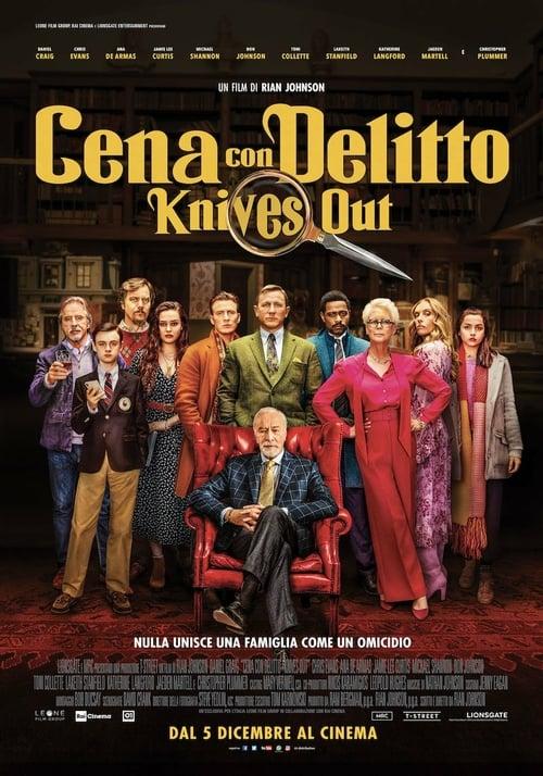 """Poster del film """"Cena con delitto - Knives Out"""""""