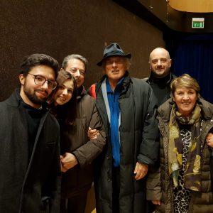 Lo staff con Stefano Benni 13/12/17